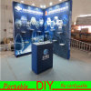 De moderne PromotieCabine van de Tentoonstelling van de Stof Backwall Draagbare Veelzijdige