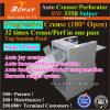 Papier couché UV Sniper Brevets Progressive perforante de coupe automatique Automatique Trancheuse Creaser Machine perforant de rainage