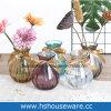 Vaso di vetro di colore di H14.5cm