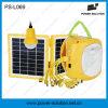 携帯用太陽電池パネル力の緑エネルギー追加LEDの球根が付いている太陽ランプライト
