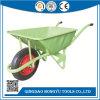 Mercado da Indonésia 58L roda metálica Barrow com 3.00-8 Pneumáticos