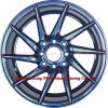 La roue d'alliage de 16 pouces borde des pièces d'auto