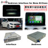 Navigateur androïde de la surface adjacente visuelle GPS de multimédia du véhicule HD pour 12-14 le benz B (système de véhicule NTG4.5), Mirrorlink/Bt/WiFi