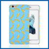 Frutas cubierta del caso del plátano de plástico duro para el iPhone 6 Plus