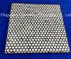 Borracha Desgaste placa cerâmica / Hexagon incorporado na esteira de borracha