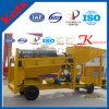 Qualitätsmobile Goldförderung-Trommel mit Schleuse-Kasten
