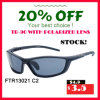 Zonnebril van de Sporten van het Effect UV400 van de fabriek de In het groot Hoge Openlucht