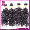 Curvado de color natural 100% ondulado cabello humano.