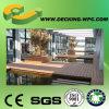 Decking composé en plastique d'étage de bois de chine