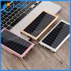 12000mAh Banco de Energía Solar de batería externo portátil