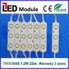5050 3LEDs módulo da injeção do diodo emissor de luz da iluminação 12V com lente ótica