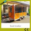 La nourriture mobile transporte en charrette le kiosque d'aliments de préparation rapide