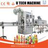 Automatische Getränk-Flasche Kurbelgehäuse-Belüftungshrink-Film-Etikettiermaschine
