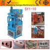 Sy1-10 Semiautomáticos Hidráulico de argila do solo Máquinas de fabrico de tijolos de cimento