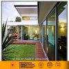 Portello scorrevole di alluminio per la villa (tre lastre di vetro/vetro temperato vuoto)