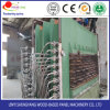 PVC Portes de l'obturateur de formage sous vide à chaud en appuyant sur la machine pour le panneau de porte de contrecollage avec le PVC// de placage de film glacé ou de film mat