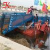디젤 엔진 강화된 가득 차있는 자동적인 물 위드 수확기