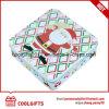Rectángulo promocional del estaño del metal del caramelo del regalo de la Navidad