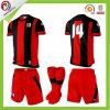 Kits baratos de encargo del uniforme del fútbol de la calidad del fútbol de la sublimación adulta tailandesa de Jersey