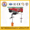 El equipo de construcción de maquinaria grúa eléctrica con carro de monorraíl