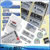 Étiquettes estampées par coutume pour pour l'appareil électrique