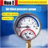 工場は圧力計の通常の鉄のシェルを卸し売りする