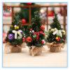 Albero di Natale della Tabella del piccolo pino di nuovo anno mini