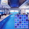 Mosaico di ceramica di figura 48*48 del nuovo prodotto del raggruppamento blu quadrato di Wwimming
