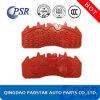 Placa traseira de aço de almofada de freio do disco BPW com melhor preço