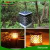 Для использования внутри помещений и на улице сад оформлены висел фонарь тип солнечного света пламени