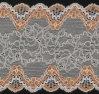 Tessuto del vestito dal tessuto di tessile del tessuto del merletto dello Spandex e del nylon