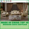 Silla seccional de cuero italiana del sofá de los muebles caseros clásicos