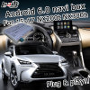 Android 6.0 sistema de navegación GPS de Verificación de Lexus NX200t NX300h 2014-2017 etc Video Interface Box