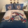 高い糸のカウントの柔らかい綿の漫画パターン寝具