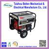 De populaire 5kw Reeks van de Generator van het Huis van de Benzine van de Draad van het Koper Elektro met Handvat en Wielen