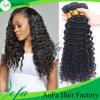Cheveux humains d'onde de Vierge brésilienne profonde brésilienne de qualité