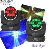 6*15W RGBW 4in1 LED Bee Eye Moving Head Beam Light