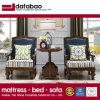 Amerikanisches moderner Entwurfs-echtes Leder-einzelnes Sofa für Wohnzimmer-Möbel As823