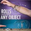 2018 Creative Magic Ring nouveau jouet 3D Magic Bracelet en acier inoxydable en forme de cinétique de l'anneau de débit