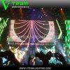 Pantalla transparente al aire libre de la cortina de Vteam IP65 LED
