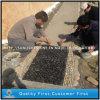 Pietra nera Polished naturale all'ingrosso del ciottolo per la pietra di Graden