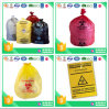 Riesgo biológico infecciosos de la bolsa de residuos médicos desechables biodegradable