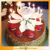 عيد ميلاد زخرفة [بوبولر موسك] لوطس عيد ميلاد شمعة
