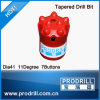 7, 11, 12 graus 34mm Taper Button Bit