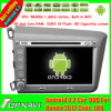 8 polegadas Capacitive Touch Screen Android 4.2 Car GPS Navigation para Honda 2012 Civic Left 3G (cinzento ou preto) WiFi Radio Video