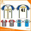 Cualquier logotipo personalizado Hombres Softbol Jersey del uniforme del béisbol camisas