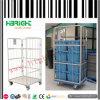 頑丈な倉庫のFoldable金属ロール容器のトロリー
