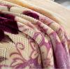 Одеяло 100% норки полиэфира супер мягкое выбитое микро-