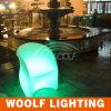 Color iluminado decoración del parque que cambia la silla del LED