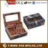 공장 가격 Handmade 스페인 삼목 목제 전시 시가 박스